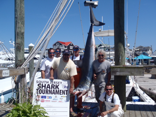 Took the lead in the South Jersey Shark Tournamnet 2012
